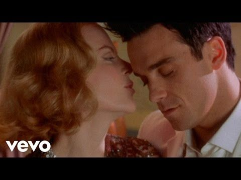 Robbie Williams and Nicole Kidman - Somethin' Stupid - YouTube
