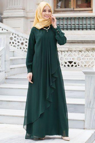 c84625313abd1 En Şık Patırtı Tesettür Abiye Modelleri | Tesettür in 2019 | Elbise ...