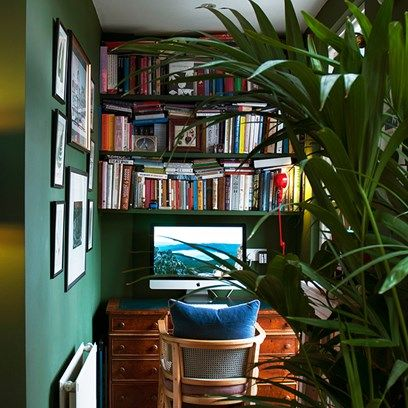 Luke Edward Hall London Flat - Workspace - Take a look around the beautiful homes and inspiring studios of our favourite artists - interiors on HOUSE by House & Garden