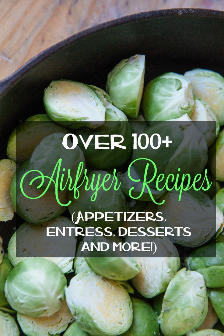 Over 100+ Air Fryer Recipes.