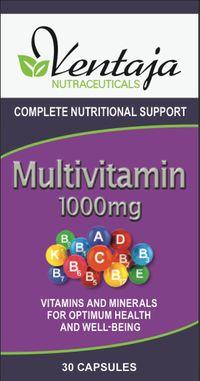 Ventaja Nutraceuticals Multivitamin 1000mg