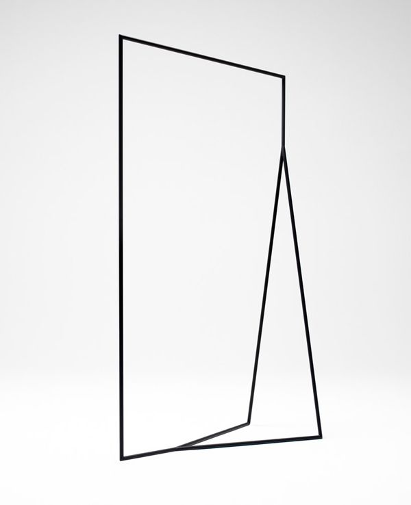minimal geometric clothes rack (to hang all the beautiful clothes i don't own)