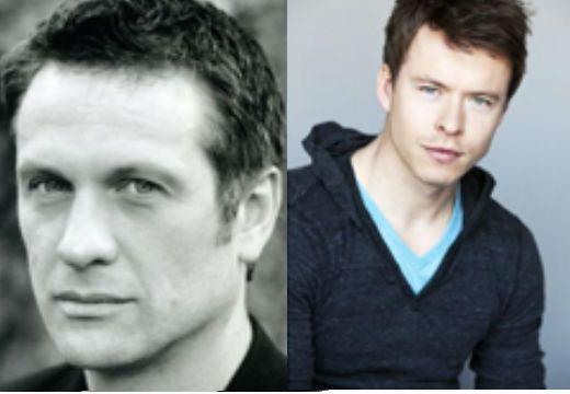 #Spartacus: Todd Lasance, Simon Merrells cast as Julius Caesar, Marcus Crassus