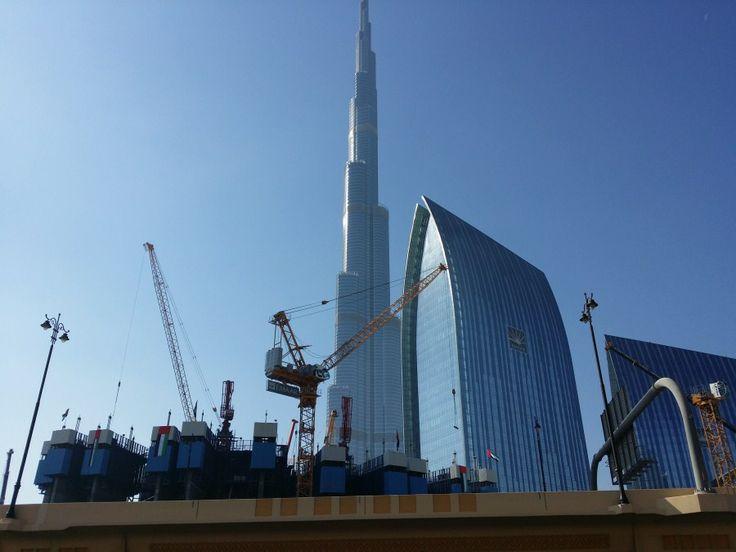 Burj Khalifa Tower (Dubai), edificio más alto del mundo, otros rascacielos y construcción