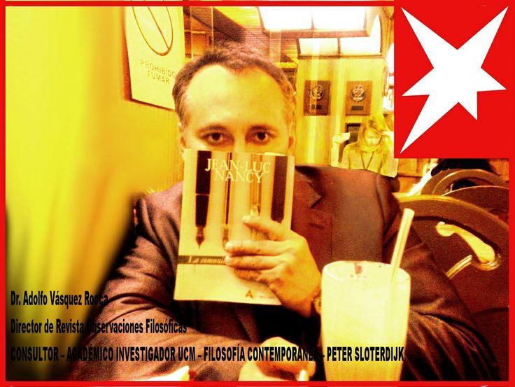 Adolfo Vásquez Rocca - Doctor en Filosofía Académico Investigador: Filosofía y Psicología en Universidad Andrés Bello Universidad Complutense de Madrid Doctor en Filosofía UCM _ Profesor Universitario, Académico Investigador UNAB_PUCV _ Director de Revista Observaciones Filosóficas _ Artista Plástico http://www.danoex.net/adolfovasquezrocca.html