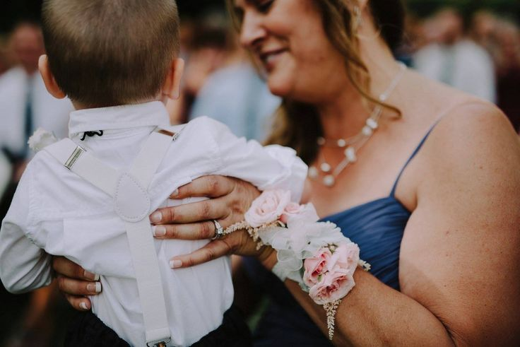 Chelsea + Tyler | Corsage by @AuroraFloraOH | Photo by Rosey Red Photography http://roseyredphotography.com/