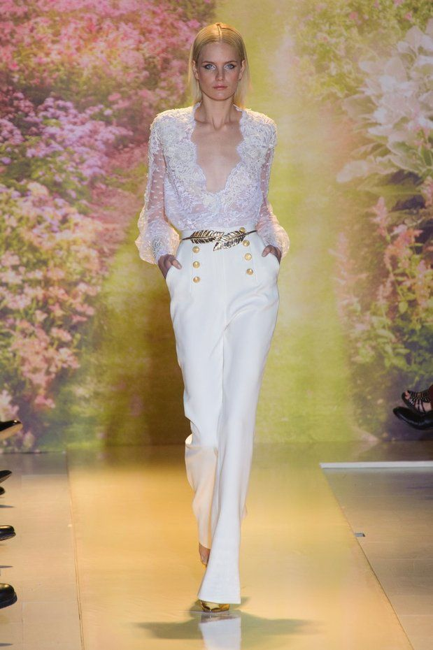 Zuhair Murad/Spring Summer Couture/2014 #fashion #mayeiah