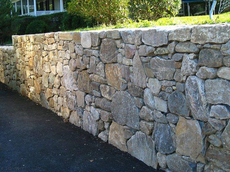 New England Fieldstone Flat Wallstone - Skinner Overlook Landscape & Design, Braintree, MA (781) 843-7770
