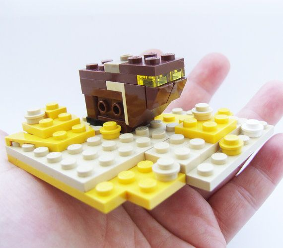 Star Wars LEGO Sandcrawler on Tatooine tiny A New by tinyminds, $30.00