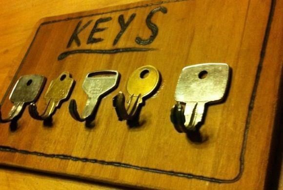 reused old keys- wish I had that few weeks ago !