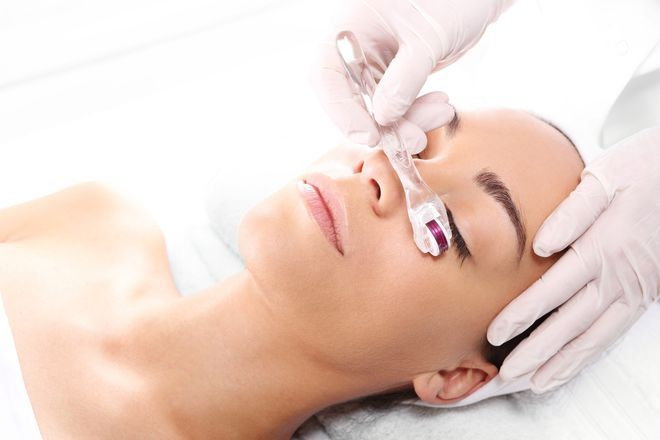 How Microneedling is Getting Even More Effective | Mcroneedling has made a major comeback, and with more power at its tip than ever before, its status has been upped to supercharged. In a nutshell, microneedling, which can also be done at-home with a dermal roller, helps to rejuvenate your complexion by creating tiny microchannels in your skin with clusters of needles to stimulate natural repair mechanisms.