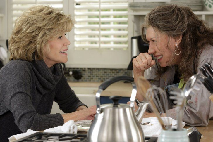 Pin for Later: 28 Emmy Nominees You Can Watch Online Right Now Grace and Frankie  Nomination: Lead actress in a comedy series for Lily Tomlin Where to watch it: Season one is on Netflix
