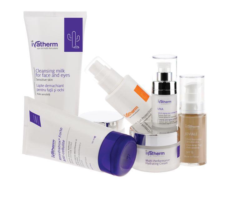 Ivatherm skin care #dermatocosmetics #thermal water #sensitiveskin