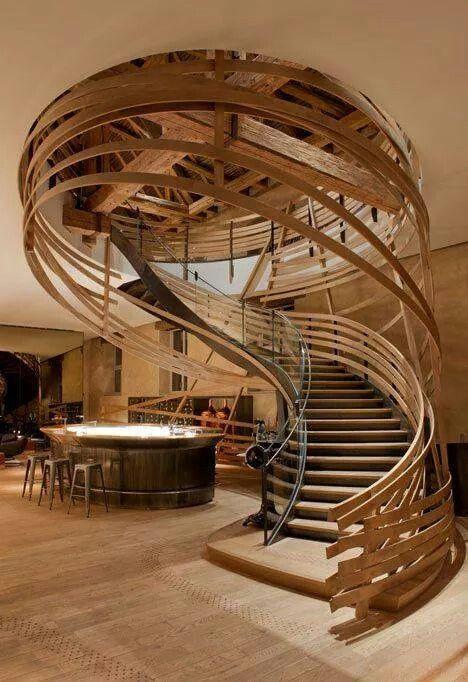 Amazing stairway