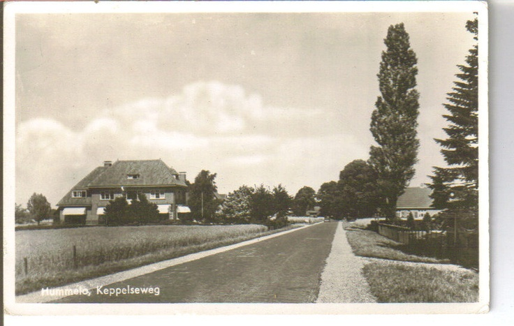 Hummelo Keppelseweg Holland vintage photo postcard. Where my Great Grandfather Johan and family are from.