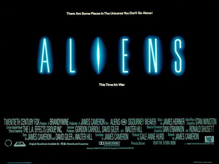Aliens (1986) poster