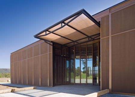 Fire Protection: Narbethong Community Hall By BVN Donovan Hill