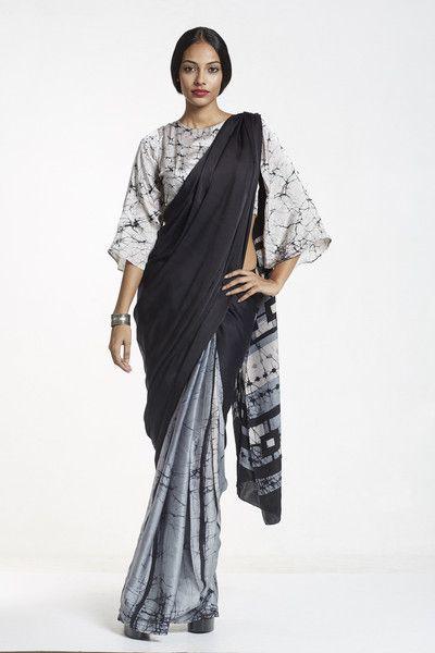 Glam2 Batik Silk Immediate Shipping Order Now Saree