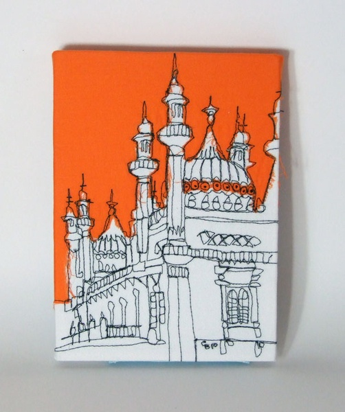 Gillian Bates – Textile Art - Royal Pavilion, Brighton