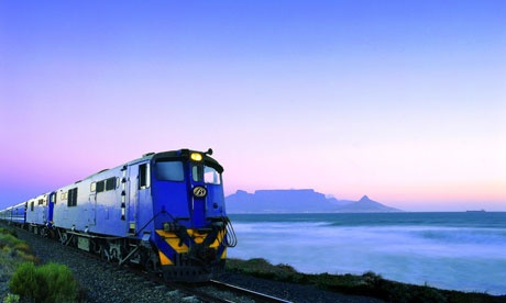 Cape Town/ Simonstown train. Line runs all along the False Bay coast from Muizenberg to Simonstown