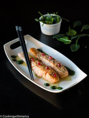 Salmone al Miele e salsa Teriyaki di Marica