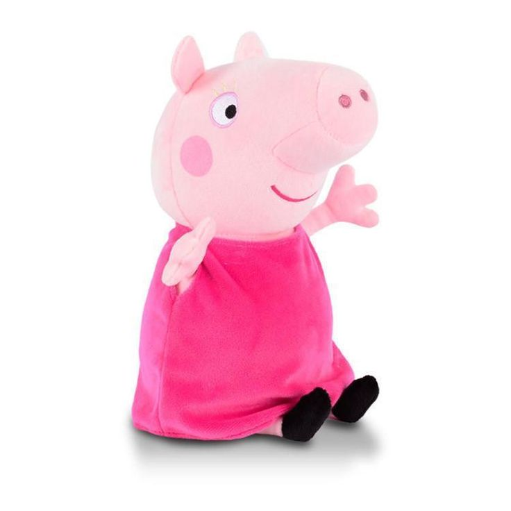 Brand Peppa Pig Plush Toys 19/30cm Peppa George Pig Family Party Dress Dolls For Girls Children Gifts Animal Plush Toys