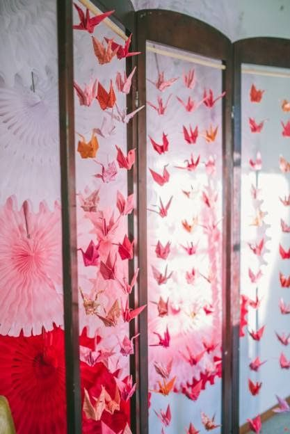 Little Big Company | The Blog: An Ombre Japanese Themed party by Sugar Coated Mama