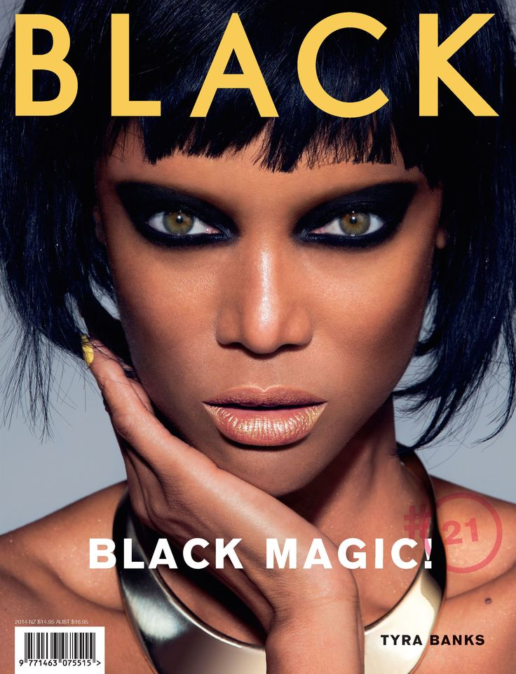 BLK #21 Cover - Tyra Banks Model: Tyra Banks  Photography: Thom Kerr at Independent Artist Management Hair & Make-up: Justin Henry at justinhenrybeauty.com  Fashion Editor: Camille Garmendia Neck piece by Charles Albert Shot at: Smoky Hollow Studios, Los Angeles Masthead retouching: Alan Hughes