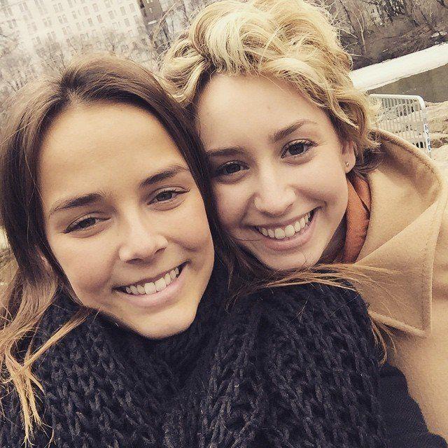 March 14, 2015 - Pauline Ducruet and Jazmin Grace Grimaldi in NYC