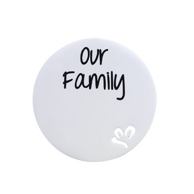 'Our Family' Statement Plate
