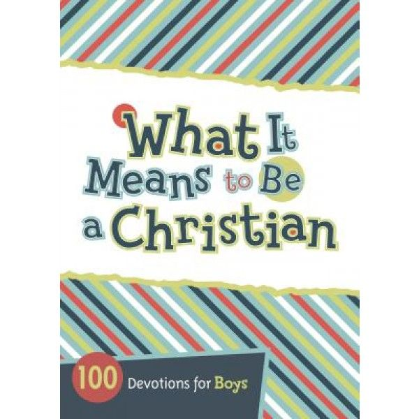 100 short devotions to help boys ages 8 to 12 understand what it truly means to be a Christian.