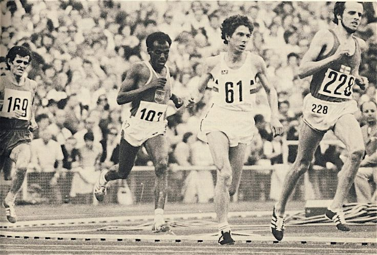 """Adrien """"Miel"""" Puttemans who set world records for 3000 metres in 1972, for 2 miles in 1971, and for 5000 metres in 1972. Born: October 8, 1947 Leuven, Belgium"""