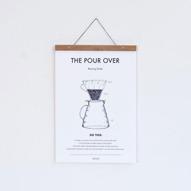 Pour Over Kaffe poster (30x40 cm)