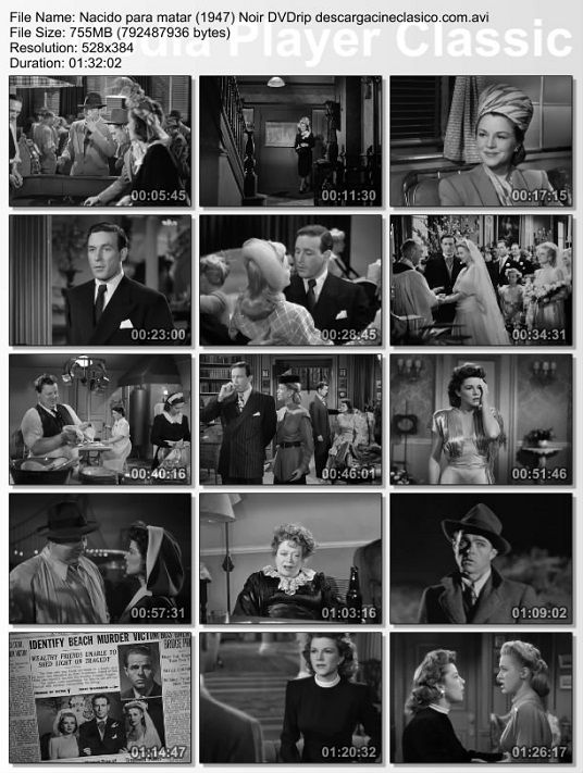 Nacido para matar (1947) Cine negro