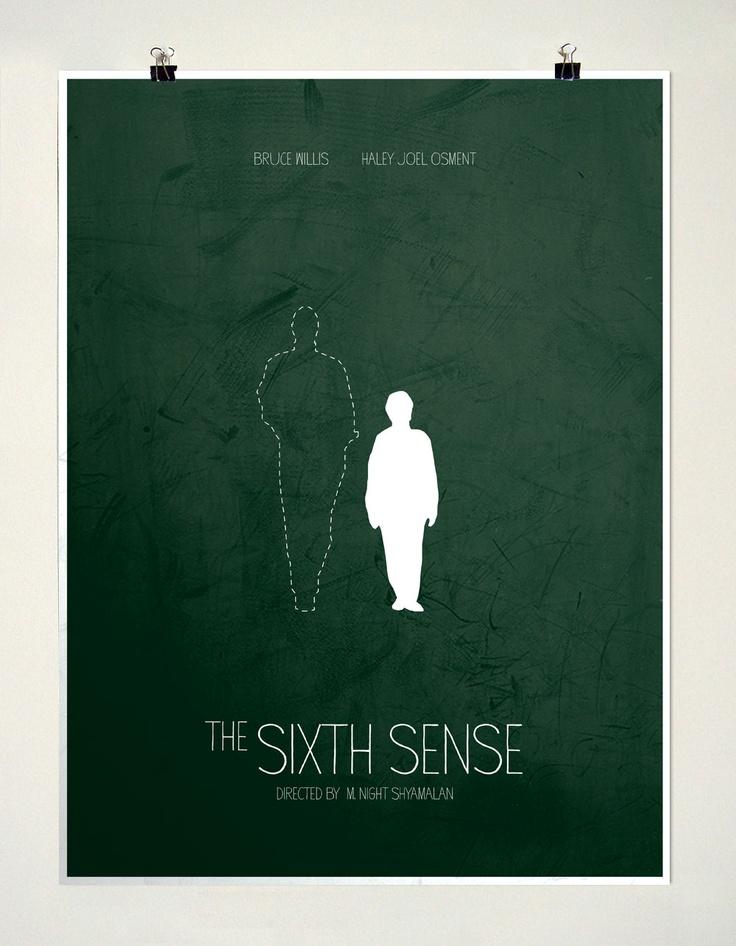 'The Sixth Sense' Minimalist Poster