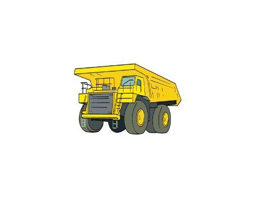 Vehicle Wall Decals - Yellow DumpTruck - 12 inch Removable Graphic Removable and will not leave a mark on your walls. Re-Usable up to 100 times. Lightweight and easy take with you when you move. Affordable prices available in all sizes. Durable Photo-Tex Material beats vinyl any day.  #WallMonkeys #Home