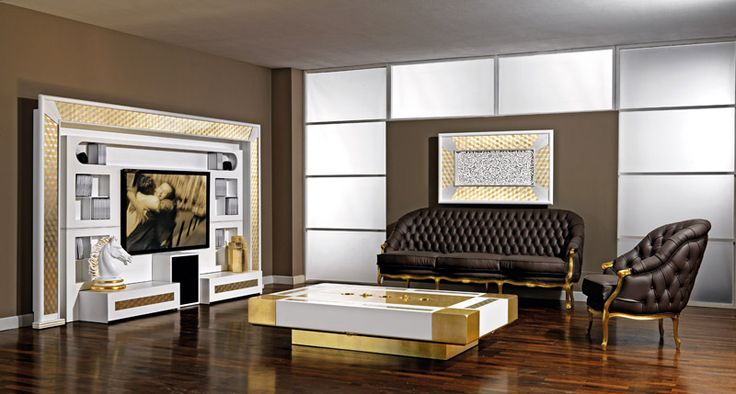 Gold is the new black! Choose our golden furniture to give your home a touch of charme. #vismaradesign #luxuryfurniture #madeinitaly #italianfurniture