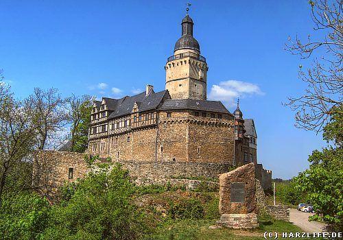 Die Burg Falkenstein                                                                                                                                                                                 More