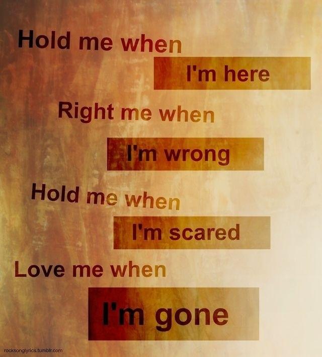 3 Doors Down - When I'm Gone(Lyrics) - YouTube