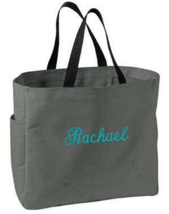 Bridesmaids Gifts, Nine, Bridesmaid Tote Bags, Personalized Tote Bags, Bridesmaid Gifts, Monogram Bags, Wedding Party Gifts, Custom Bags