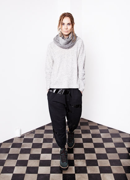 apart from the vinyl'ee bits on the pant's....great winter look  <3    Great look! http://www.acolyth.com