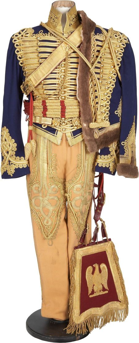 British Hussar kit- a magnificant work of art ! Nearly identical to the uniforms of 1815 Waterloo