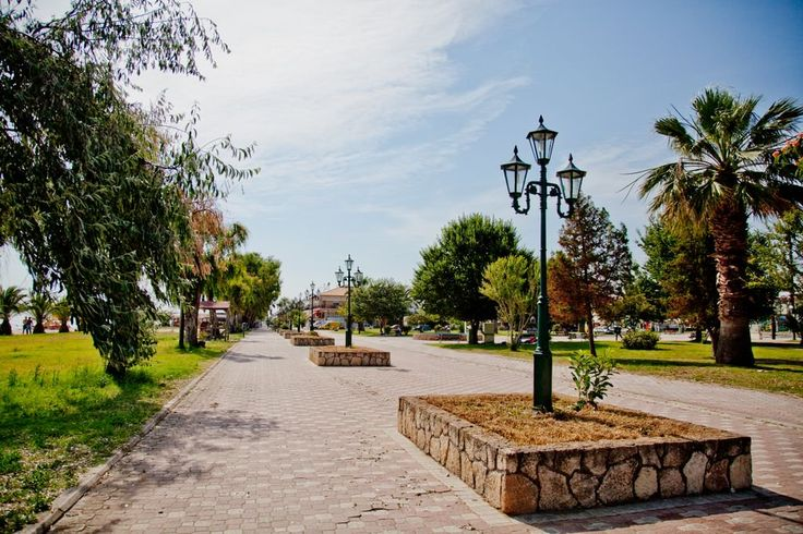 Enjoy your coffee while kids are playing in the playground, just 50m from #hotelmelissanthi #halkidiki #greece #summer
