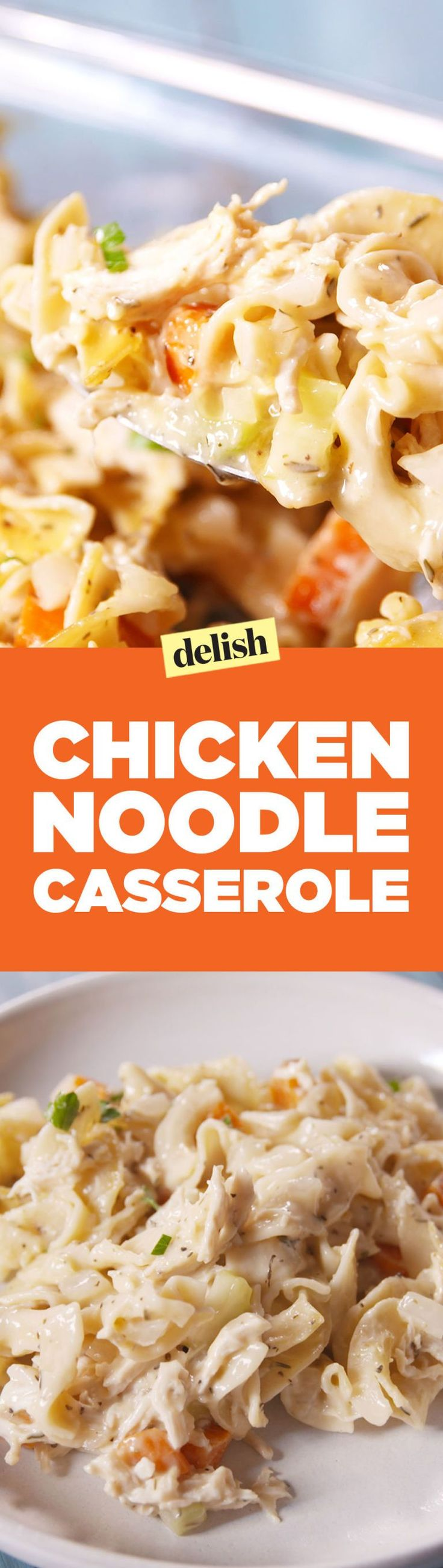 We've Taken The Best Part of Chicken Noodle Soup And Made It A Casserole