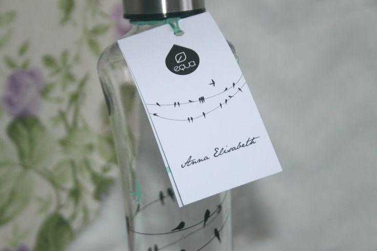 Sandrelle: Blogiloos :: EQUA klaaspudel by Anna Elisabeth. More details of the bottles.