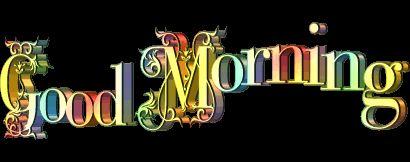 Good Morning - Animated Image !-wg0180200