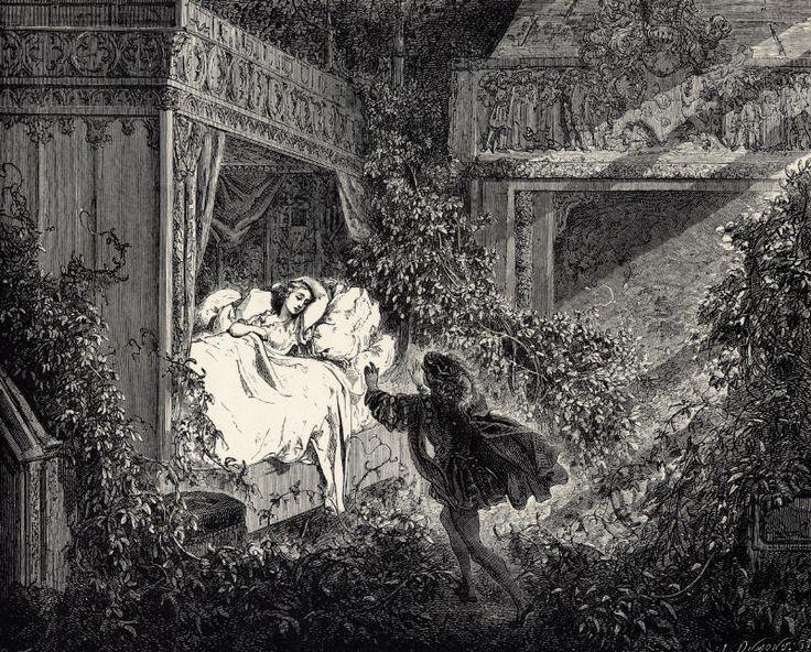 La Belle au Bois Dormant - Sixth of six engravings by Gustave Doré - Sleeping Beauty - Wikipedia, the free encyclopedia