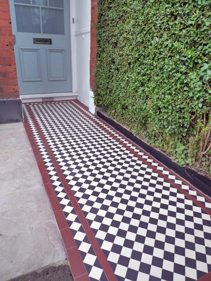 victorian mosaic tiles - Matchstick Tile Garden Decoration