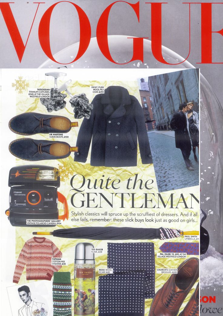 "@British Vogue ""The Wonder of Winter"" Christmas #gift guide.  #Meteorite #cufflinks http://www.tateossian.com/category/1009/cufflinks/*.html"