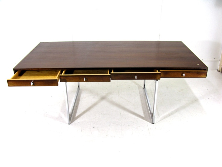 Bodil Kjaer Executive Desk, 1959: This ultra sleek and modern desk is a dream of mine.